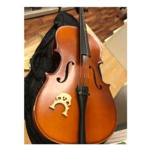 Cello 1/8 | Spricka i locket
