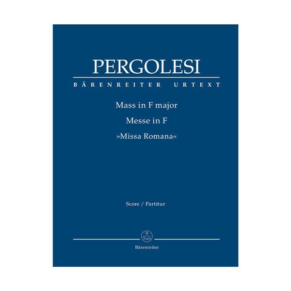 Pergolesi - Mass in F major | Partitur
