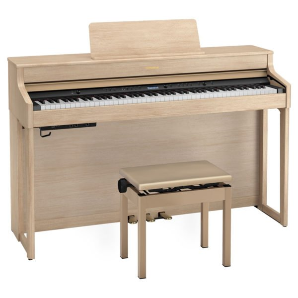 Roland HP-702 | Light Oak - Front