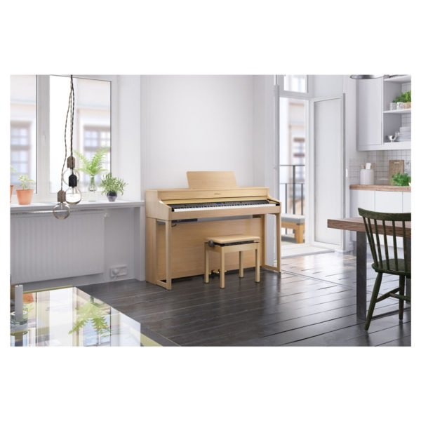 Roland HP-702 | Light Oak - Miljö