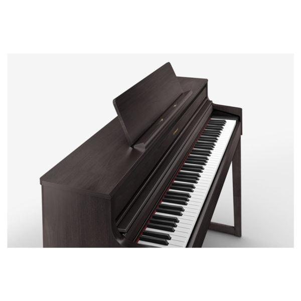 Roland HP-704 | Dark Rosewood - Keyboard