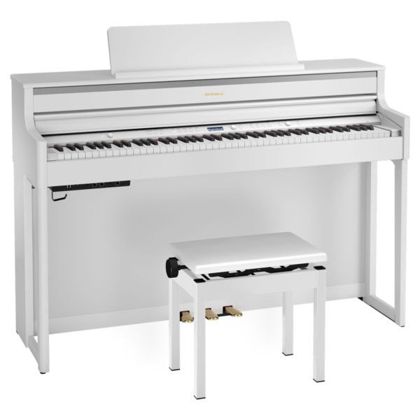 Roland HP-704 | White - Front