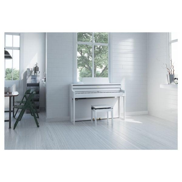 Roland HP-704 | White - Miljö