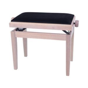 Pianopall   Deluxe   White Ash
