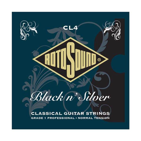 Rotosound CL4 | Superia Pro Black & Silver