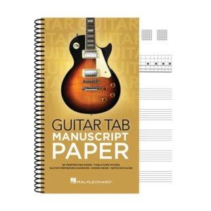Guitar Tab Manuscript Paper