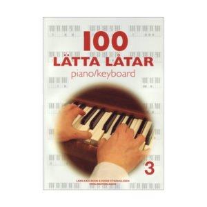 100 lätta låtar 3 | Piano/Keyboard