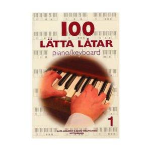 100 lätta låtar 1 | Piano/Keyboard