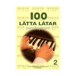 100 lätta låtar 2 | Piano/Keyboard