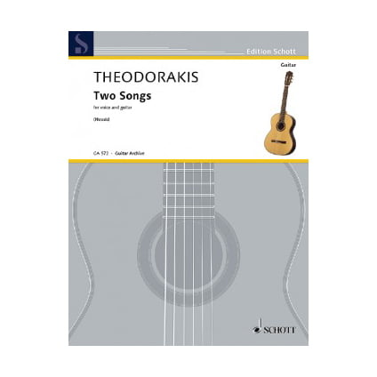 Two Songs | Mikis Theodorakis