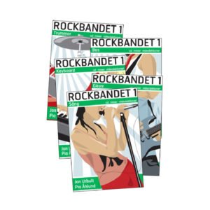 Rockbandet 1 | Bokpaket