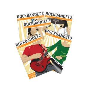 Rockbandet 2 | Bokpaket