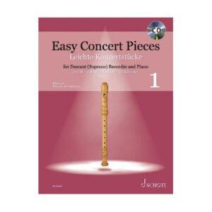 Easy Concert Pieces 1 | Sopranblockflöjt