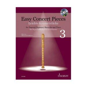 Easy Concert Pieces 3 | Sopranblockflöjt