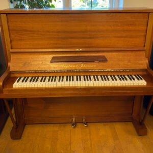 Piano Engström & Johanisson | Satinerad valnöt