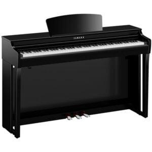 Yamaha Clavinova | CLP-725 | Polerad svart