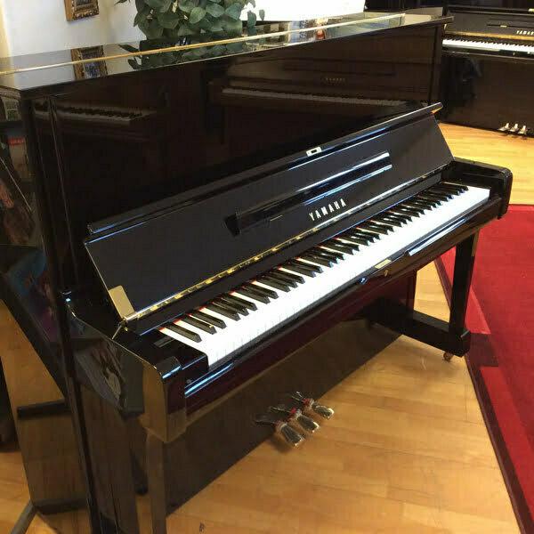 Piano Yamaha U1   Polerad svart