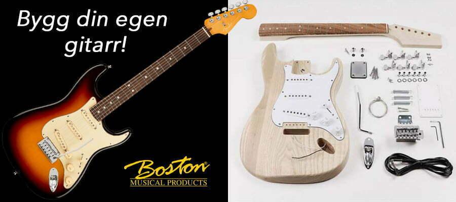 Bygg din egen gitarr
