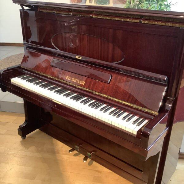 Piano Ed. Seiler   Polerad mahogny