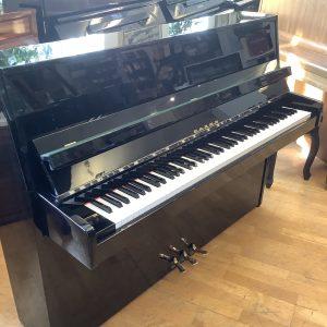 Piano Fazer | Polerad svart