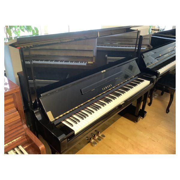 Piano Yamaha U3 | Polerad svart - 2